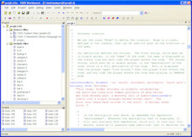 TADS - the Text Adventure Development System, an Interactive Fiction